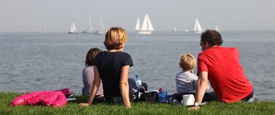 Family day trip Volendam Marken