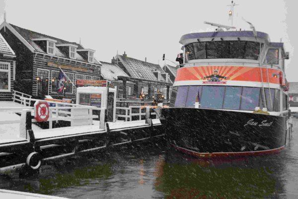 Winter in Volendam