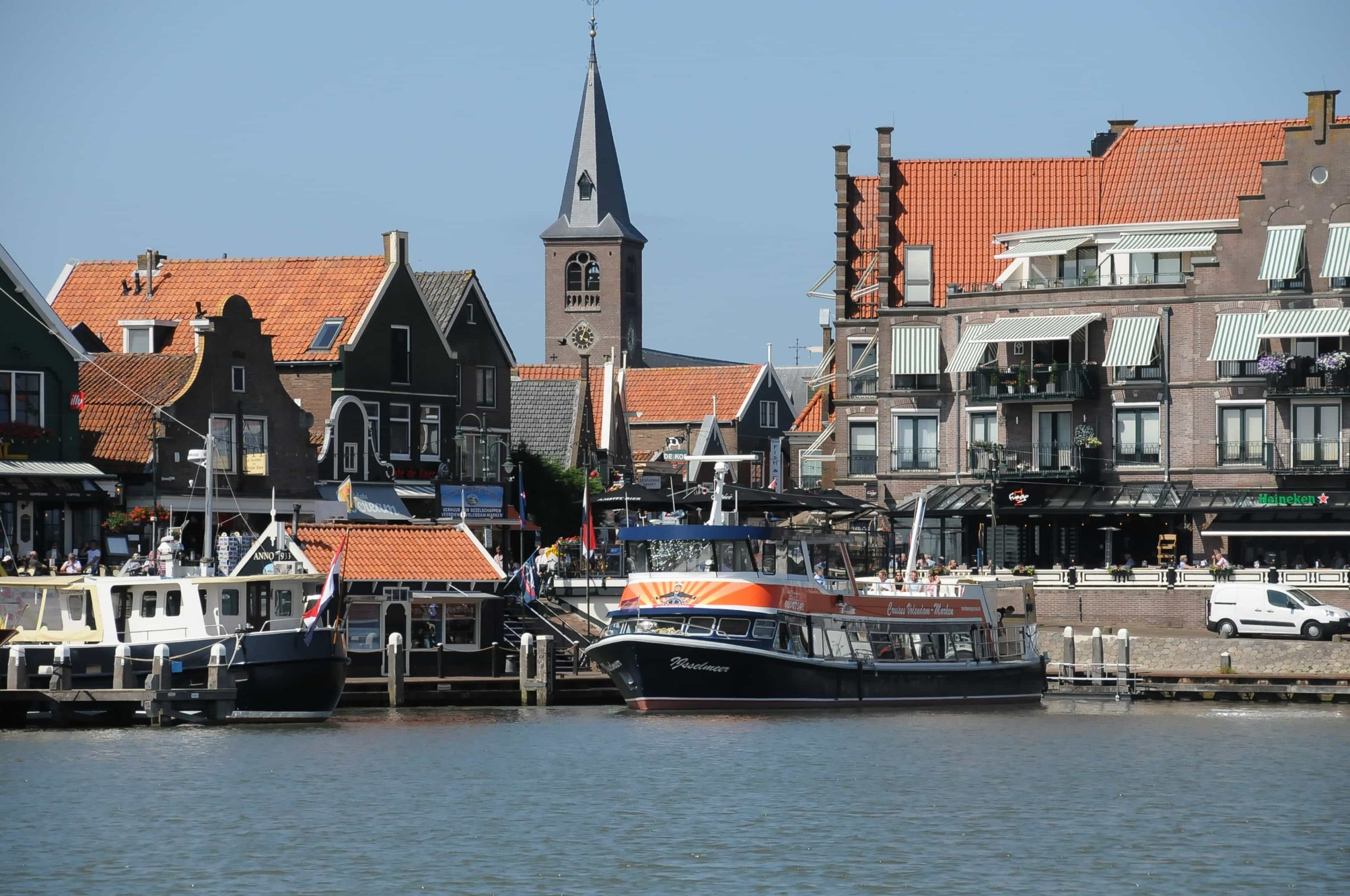 Haven in Volendam boten