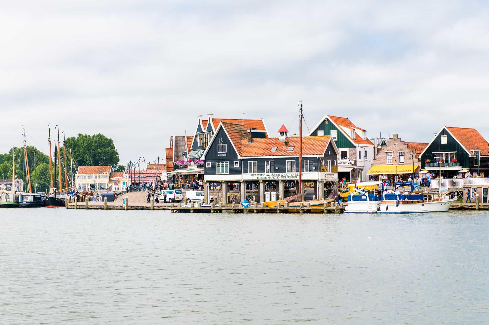 Afvaartlocatie haven Volendam