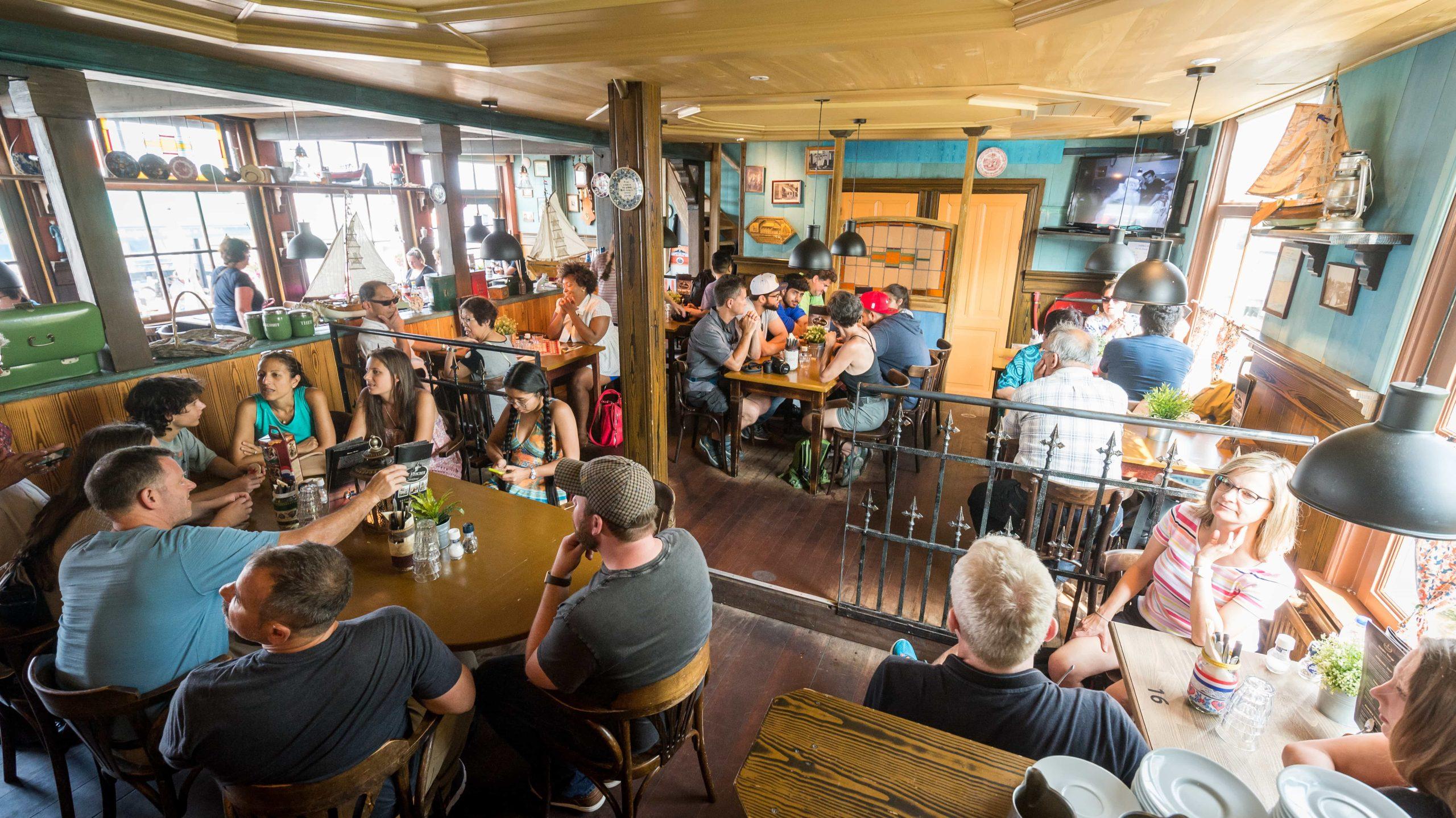 Taverne de Visscher restaurant inrichting