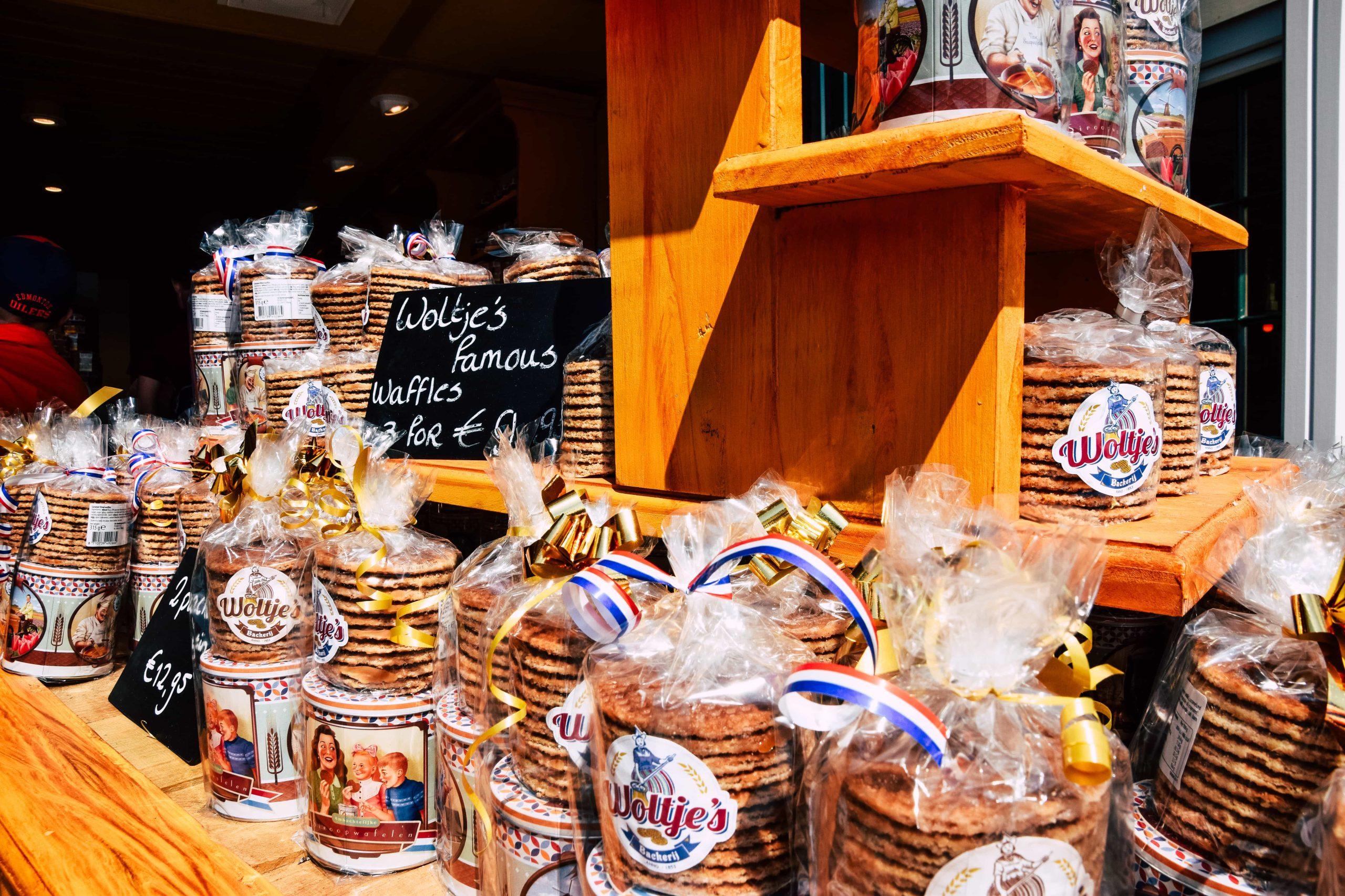 Stroopwafels in Volendam
