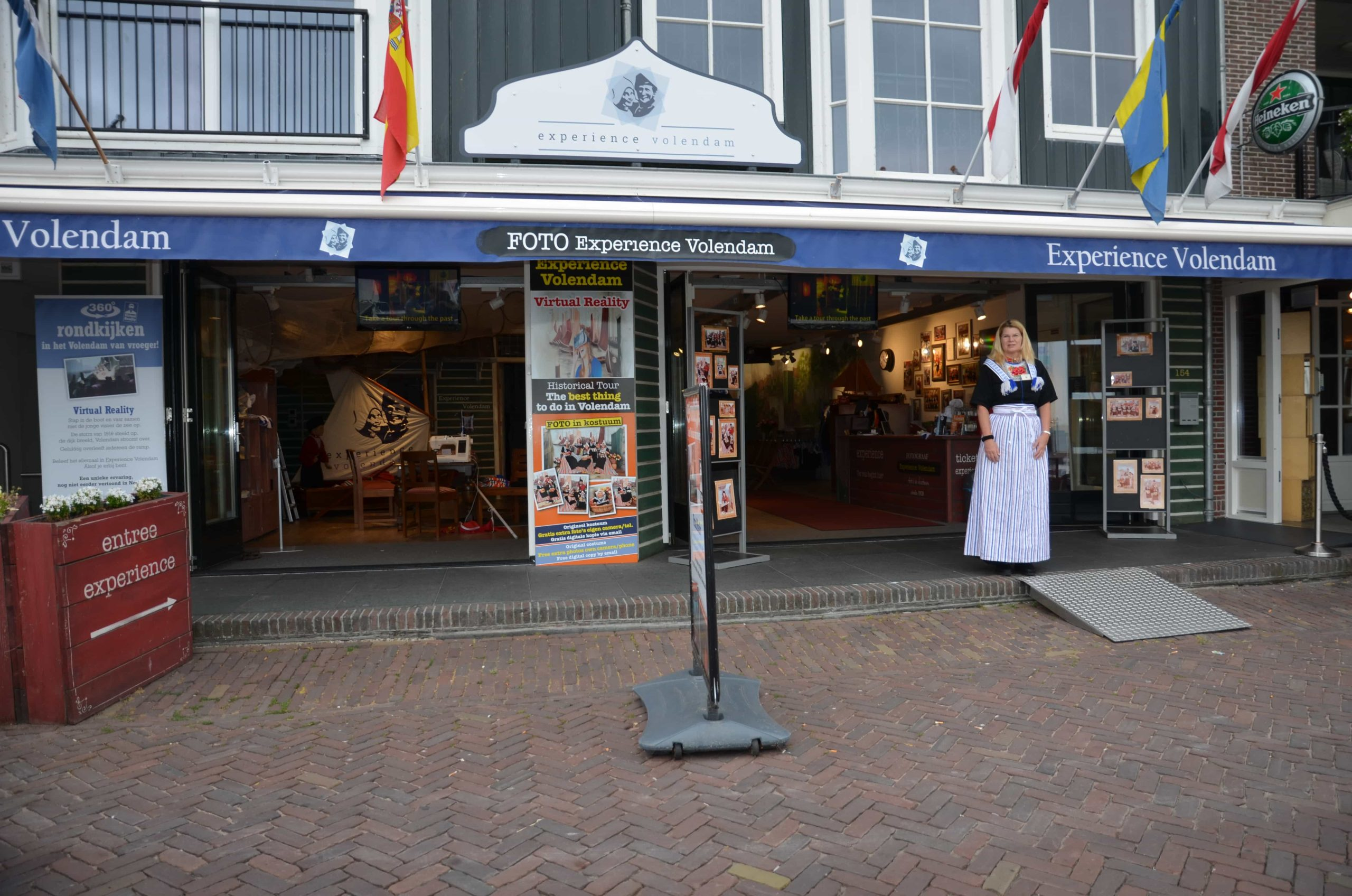 Experience Volendam dijk