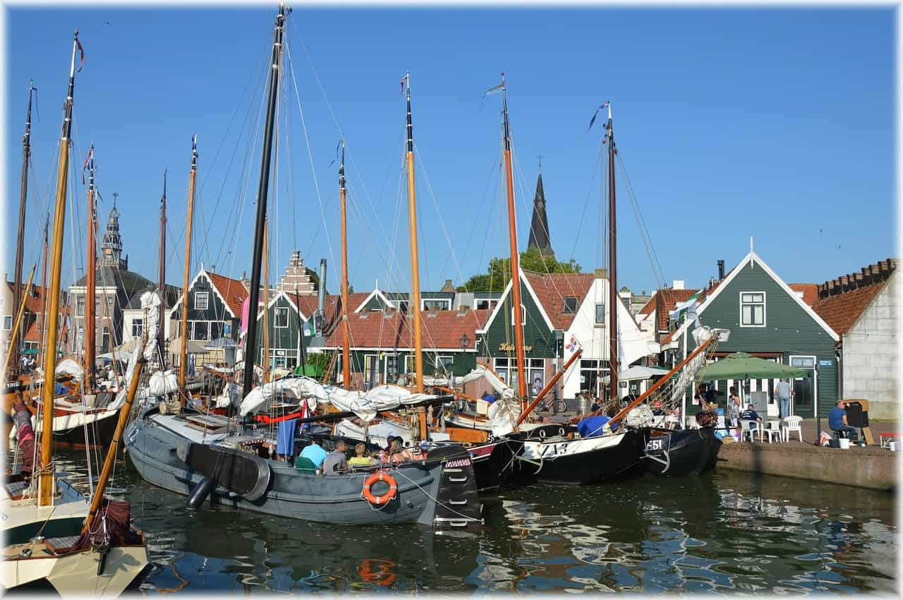 Haven in Marken