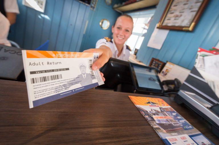 Ticketverkoop personeel Marken Express