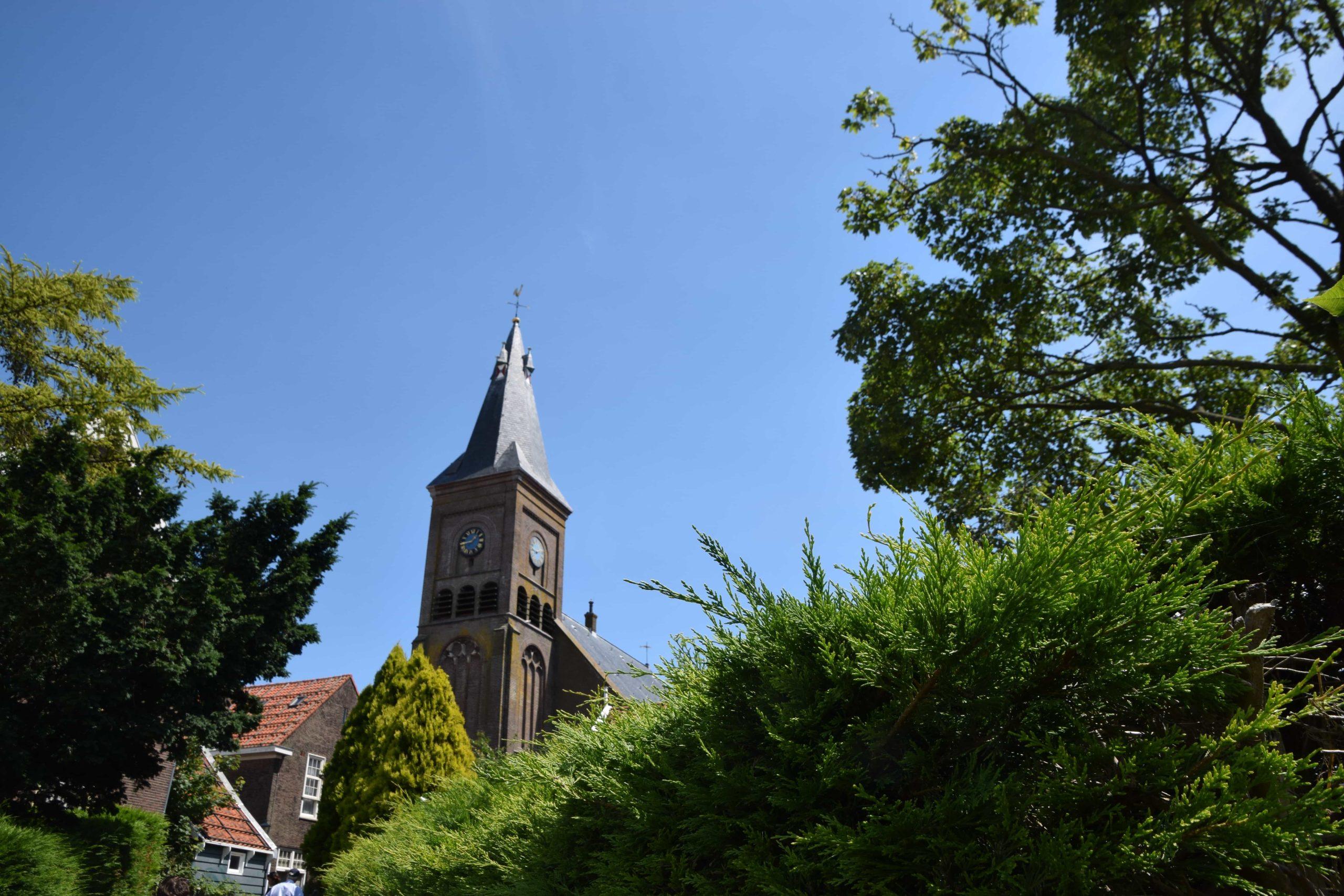 Oude kerk in Marken