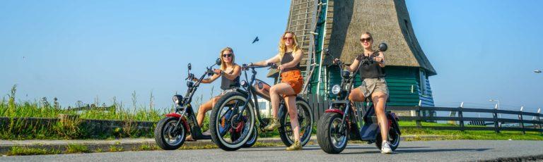 cycling around Volendam