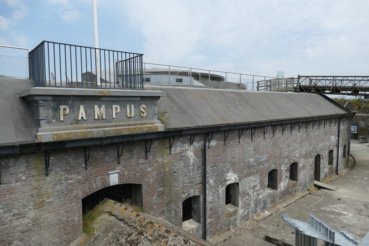 Forteiland Pampus bij Amsterdam