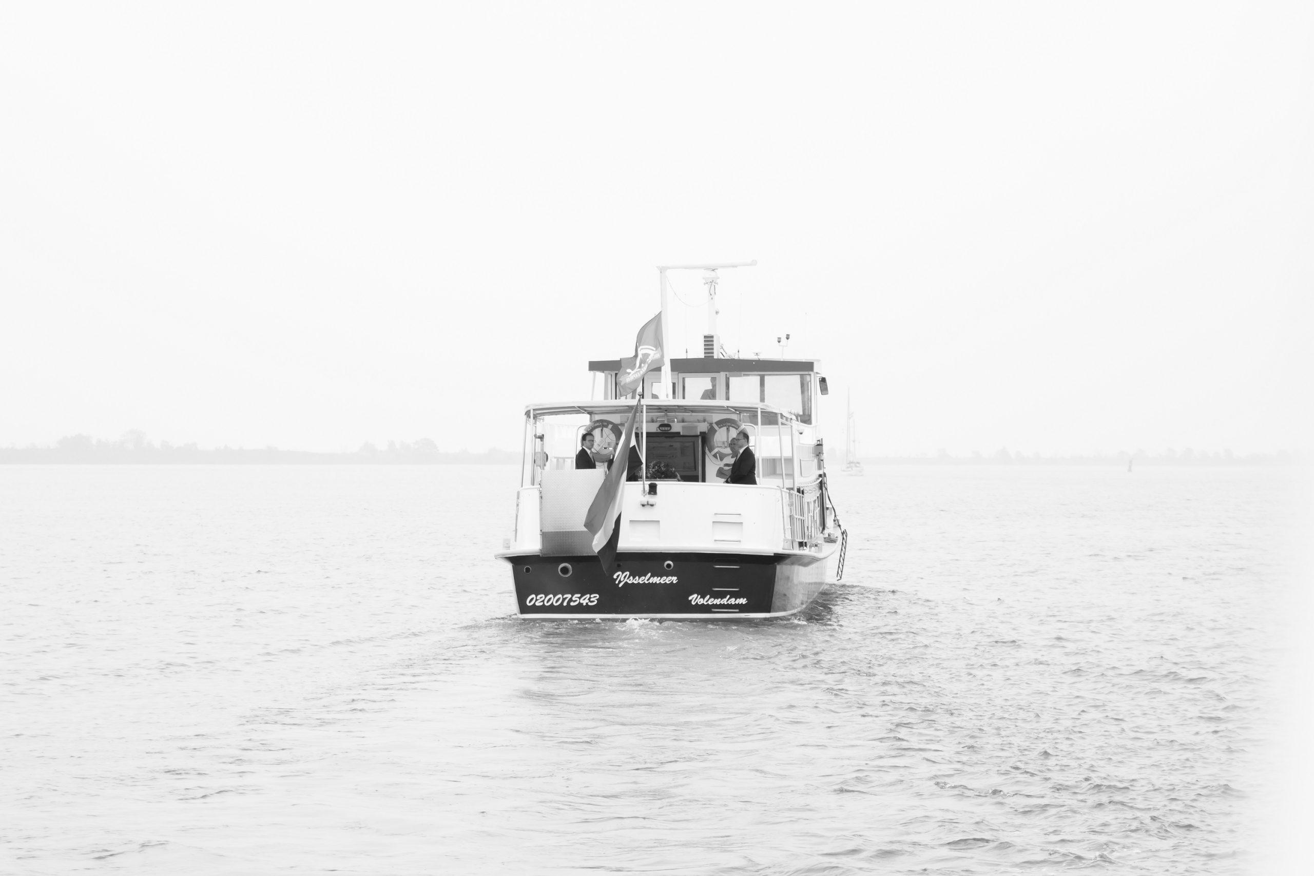 Uitvaart op het water